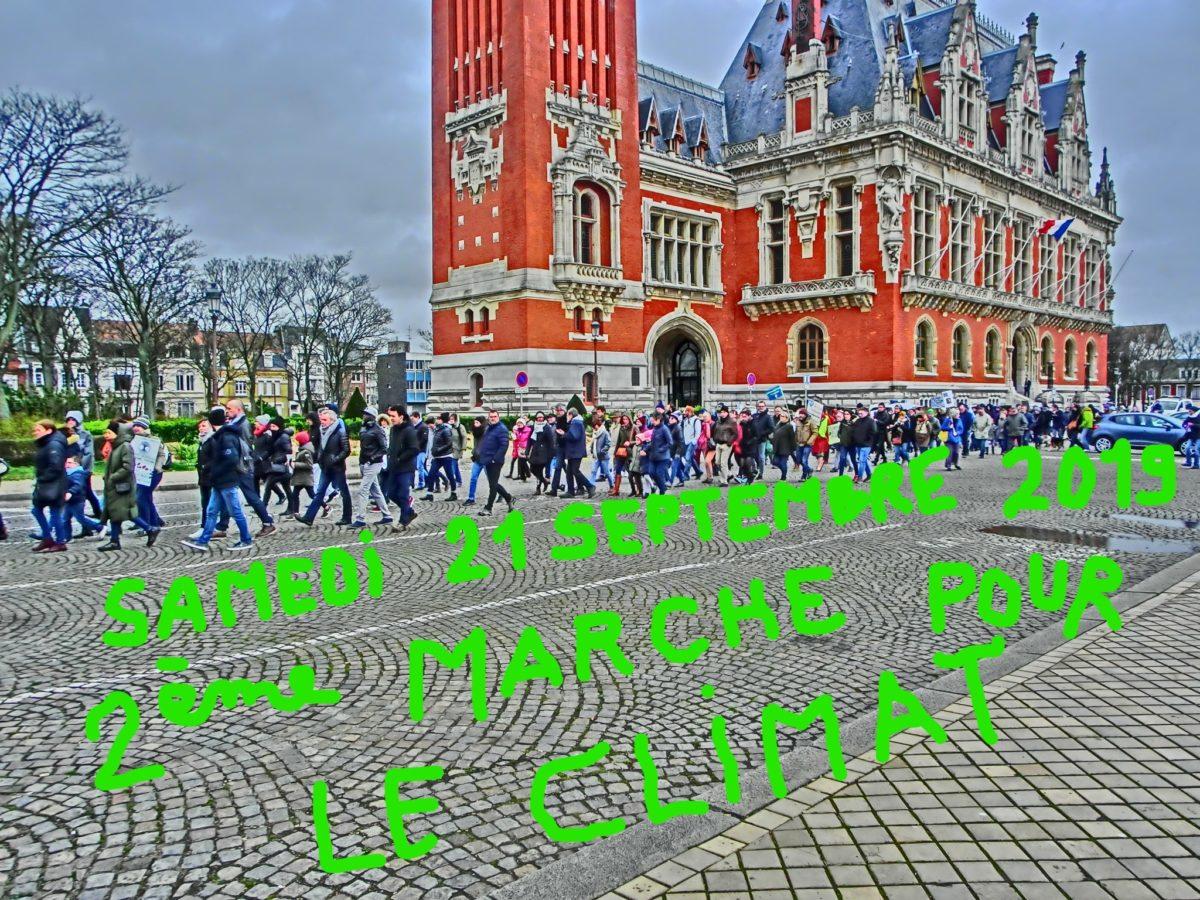 Marche pour le climat en trois étapes le samedi 21 septembre