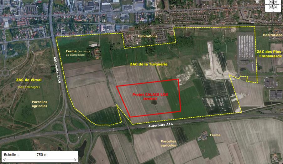 Calais Log Invest : nous demandons des mesures compensatoires et un projet de territoire plus économe en consommation d'espaces agricoles et naturels sensibles